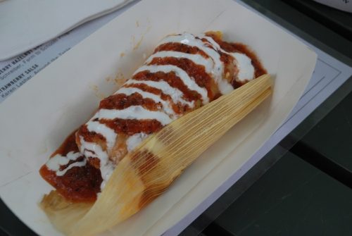 Yukatan Chicken Tamale
